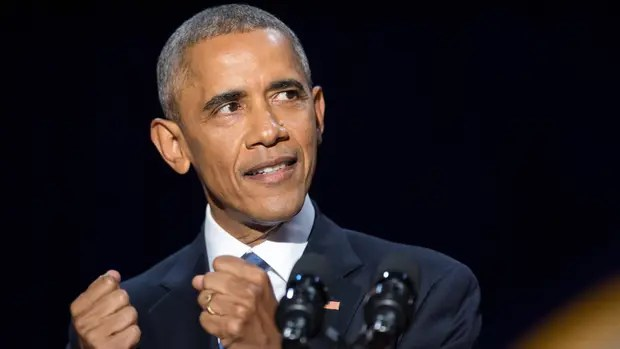 Bay, bay Obama.
