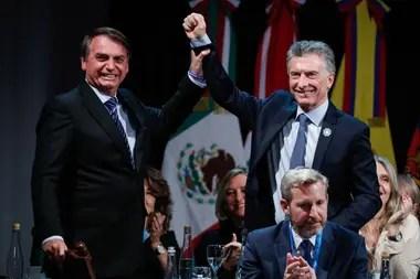 Bolsonaro y Macri
