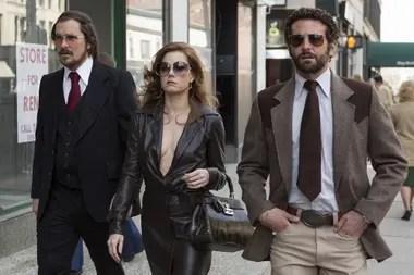 Junto a Christian Bale y Bradley Cooper en Escándalo americano, de David O. Russell, su quinta nominación al Oscar
