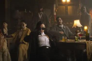 """Nicki Nicole en una escena de su """"trailer-videoclip"""""""