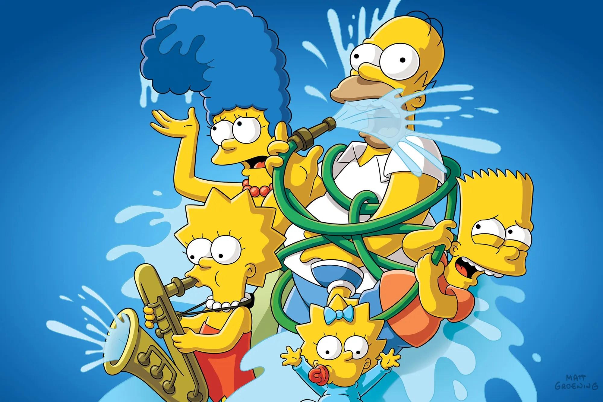 Bart Golpea A Homero Con Una Silla Escena Completa Hd Latino