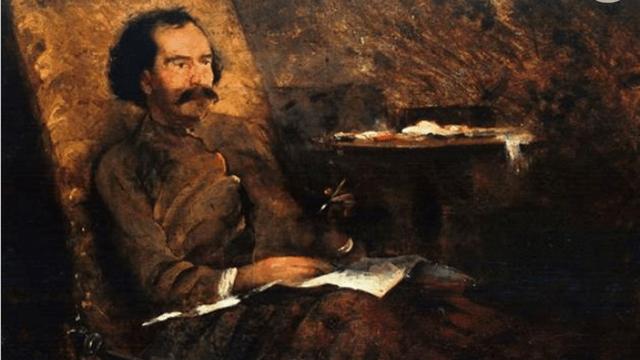 Retrato de Gervasio Méndez (ca. 1891), Graciano Mendilaharzu