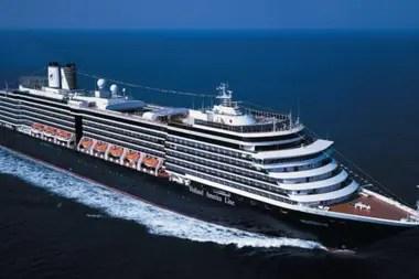 El crucero MS Westerdam de la compañía británico-estadounidense Holland America Line