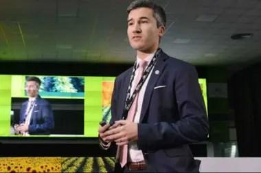 Agustín Tejeda, de la Bolsa de Cereales de Buenos Aires