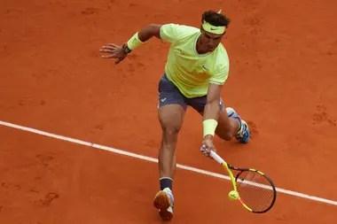 Rafa Nadal en su cancha preferida: la central de Roland Garros