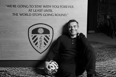 Radrizzani, un hombre de fútbol y negocios que canaliza las dos pasiones en Leeds.