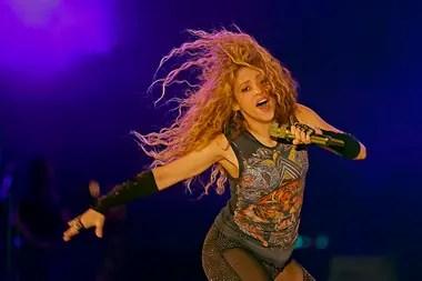 Shakira hizo bailar y cantar al mundo entero