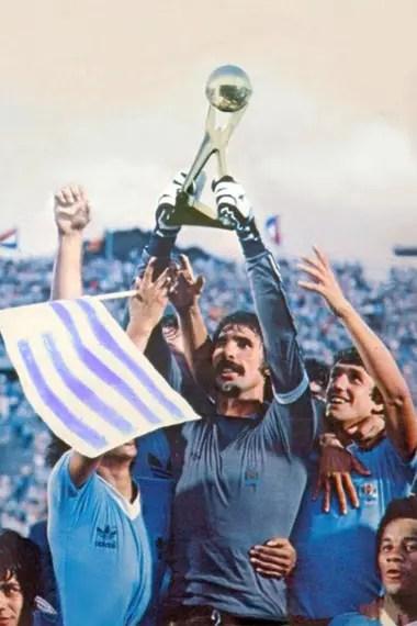 Uruguay, ganador de la Copa de Oro de Campeones del Mundio.