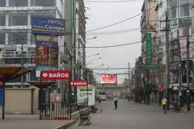 Se trata de uno de los mayores centros comerciales de Lima