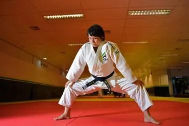 La japonesa de 35 años se convirtió en la primera entrenadora del equipo masculino brasileño de judo
