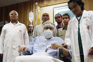 Megrahi fue puesto en libertad tras ocho años en la cárcel por motivos humanitarios después de que le diagnosticaran un cáncer terminal de próstata