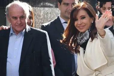 Oscar Parrilli y Cristina Kirchner