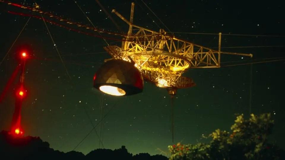 Para el estudio se utilizaron datos recopilados por el Observatorio de Arecibo en Puerto Rico. (Crédito: DR SETH SHOSTAK/SCIENCE PHOTO LIBRARY)