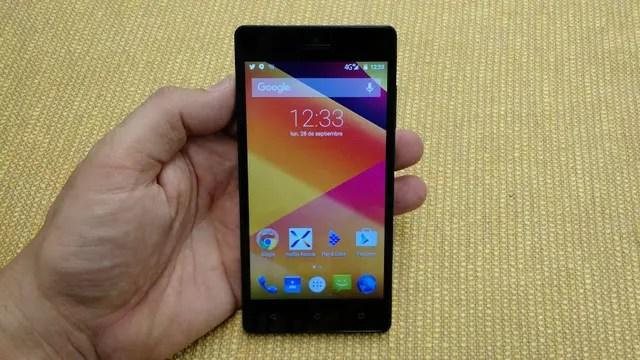 El modelo Go Plus tiene una pantalla de 5 pulgadas y 1280 x 720 pixeles, además de un chip de cuatro núcleos y 1 GB de RAM