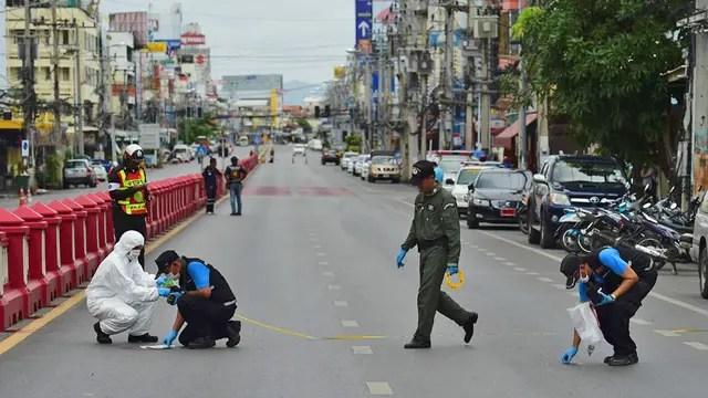 Ola de atentados en Tailandia