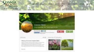 La página web