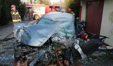 El conductor afortunadamente salvó la vida