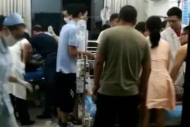 El incidente ocurrió en la provincia de Hunan; hay 44 heridos