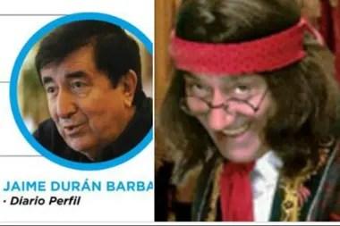 Massot comparó a Durán Barba con el personaje de Alberto Olmedo, el Manosanta