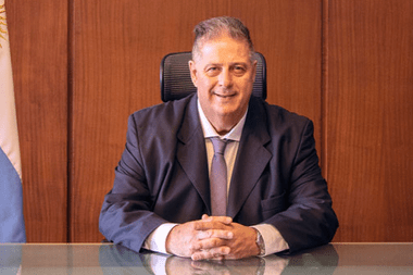 Alejandro Collia, uno de los funcionarios implicados en el vacunatorio vip