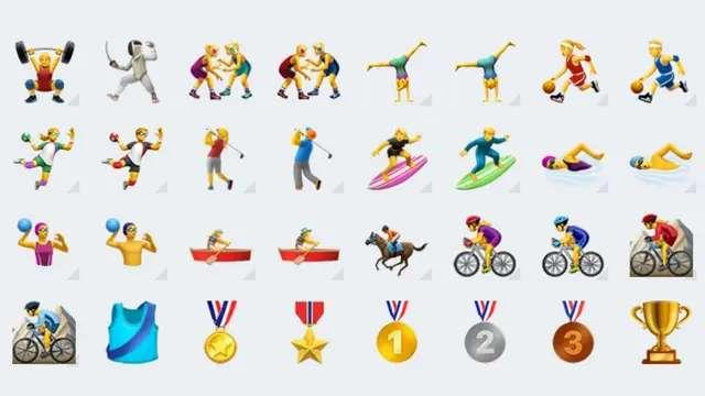 Los nuevos emojis de Whatsapp, con alternativas femeninas y masculinas