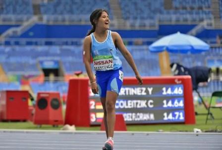 Yanina Martínez tendrá beca de excelencia olímpica