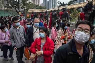 En Hong Kong repartirán barbijos gratuitos