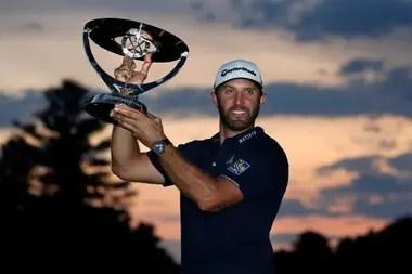 Dustin Johnson won a total of 24 tournaments on the PGA Tour