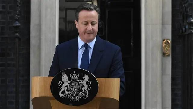Cameron se mostró emocionado al momento del anuncio