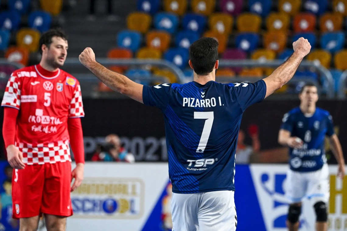 Los Gladiadores dieron el gran golpe ante Croacia, ganaron y sueñan con la  clasificación en el Mundial de handball - LA NACION