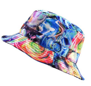 Floral print hat from NYfashion101