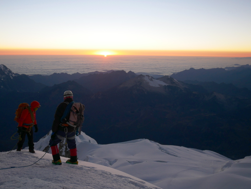 alpinisme bolivie preparation montagne