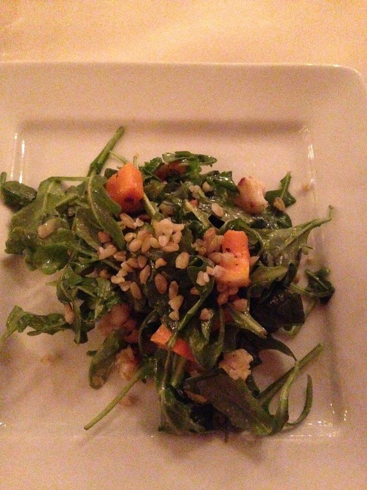 arugula farro salad
