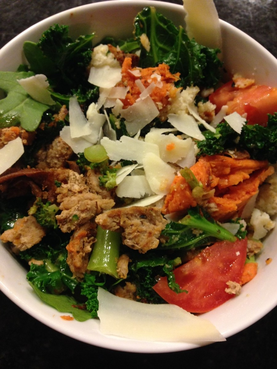ground turkey stirfry