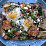 benefits of breakfast_veggie sweet potato avocado breakfast pizza