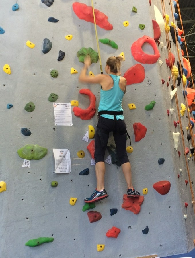 Life lessons learned from rock climbing