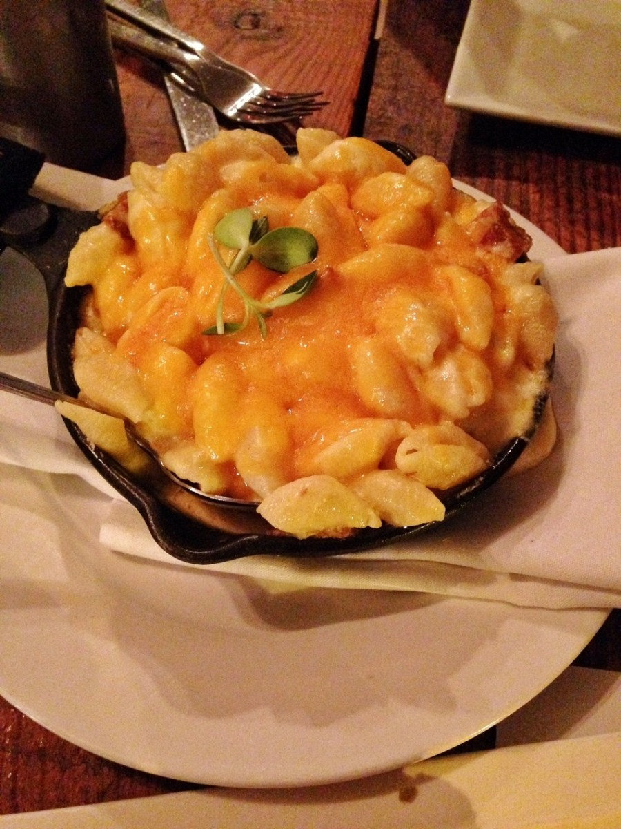summit room mac n cheese