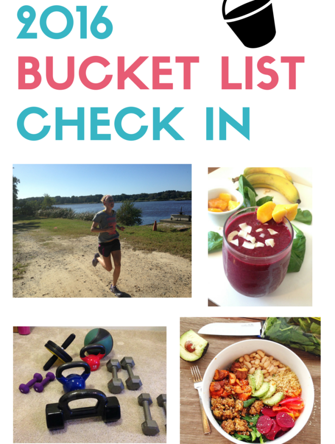 Bucket List Check In