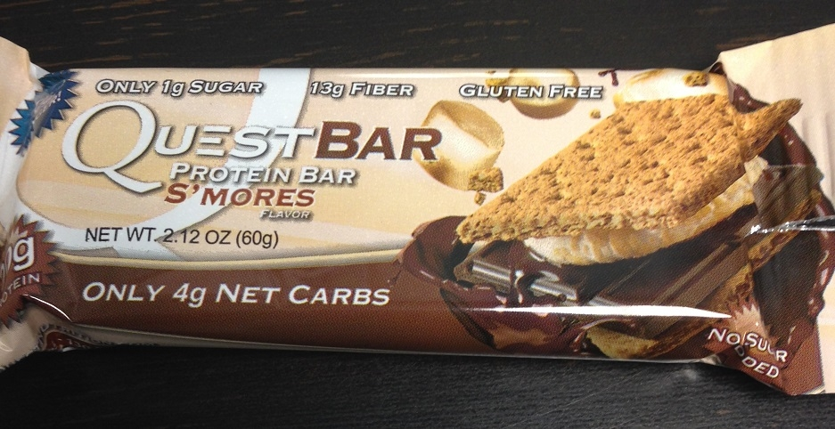quest bar snack