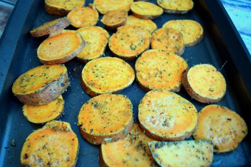 Sweet Potatoes Nachos