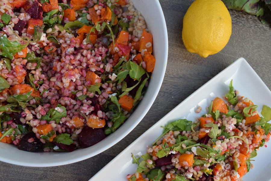 Fall Salad, Thanksgiving, Grain Salad