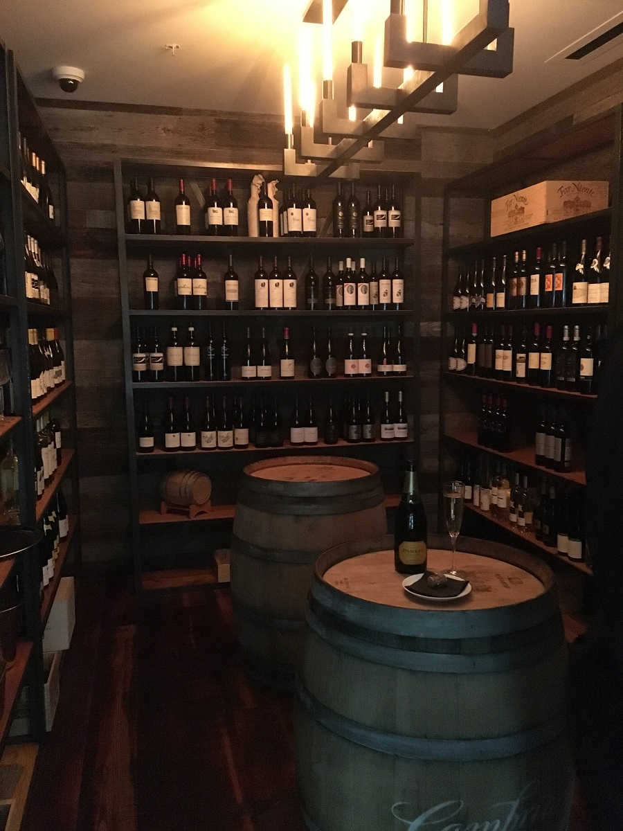 Hidden Wine Room