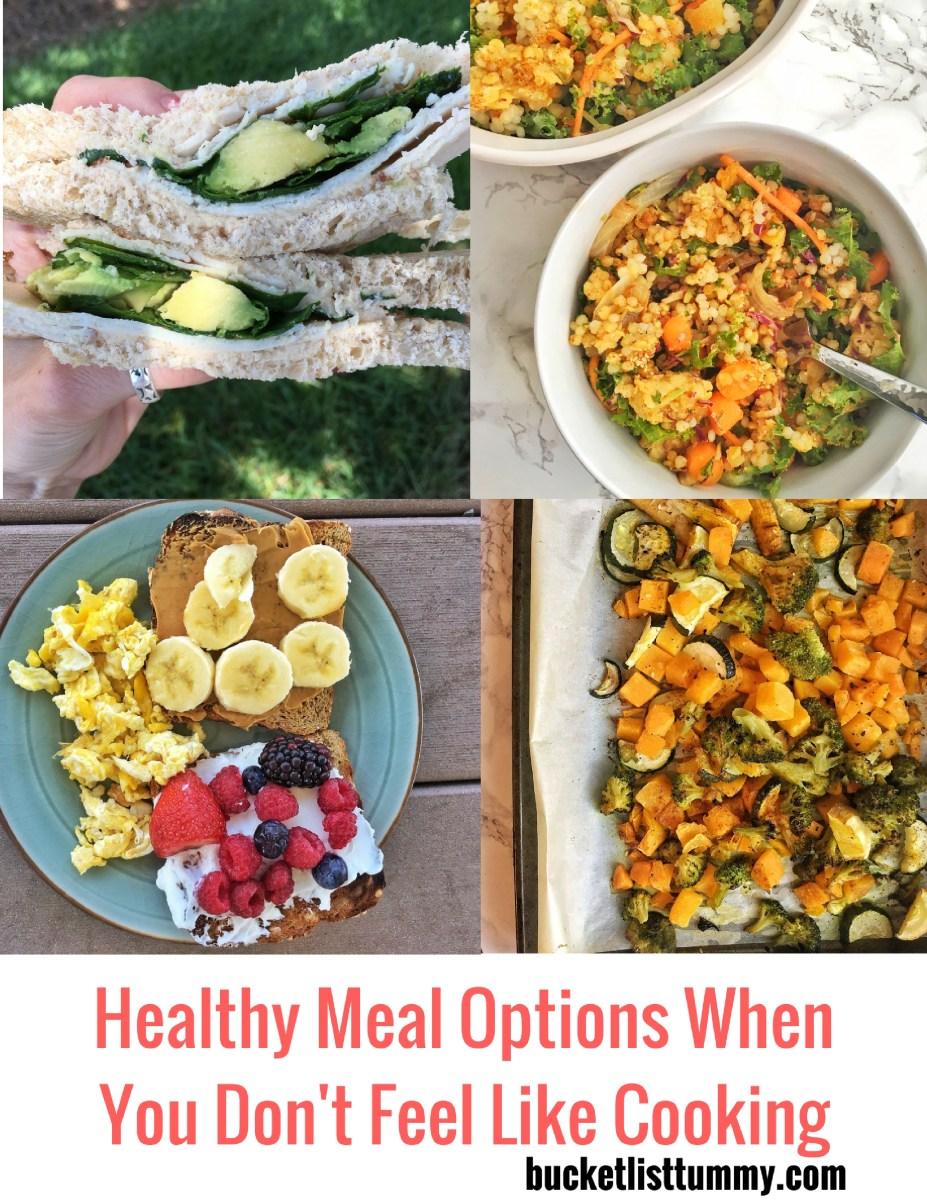 Healthy No Cook Meals