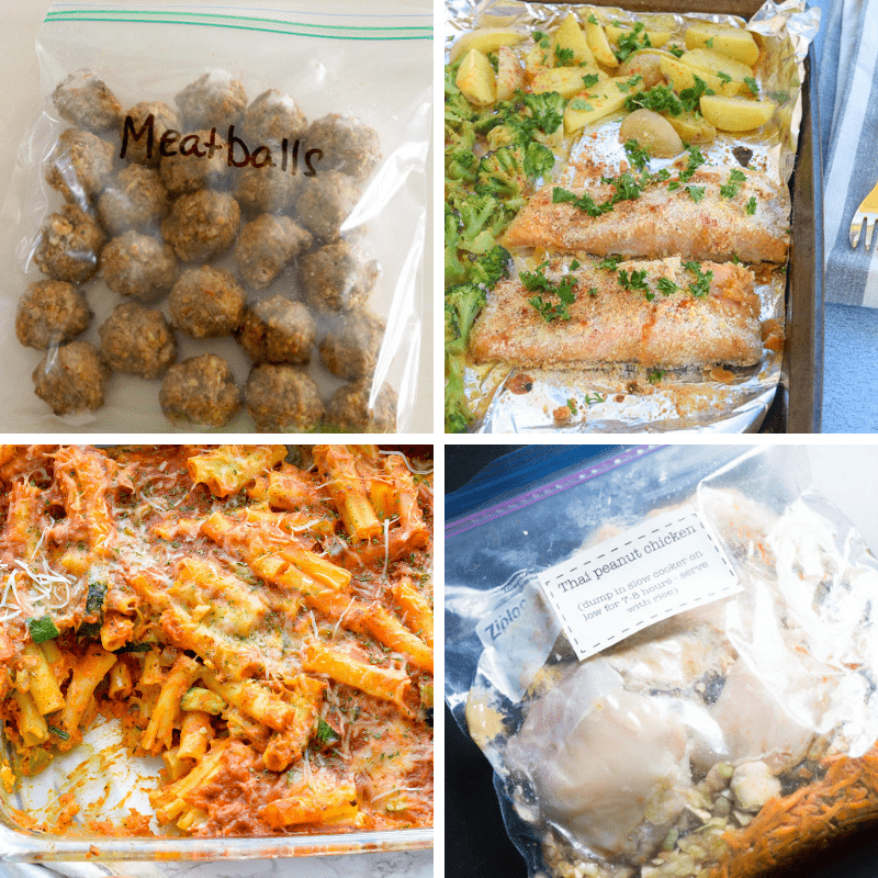 Easy Freezer Meal Ideas For New Moms