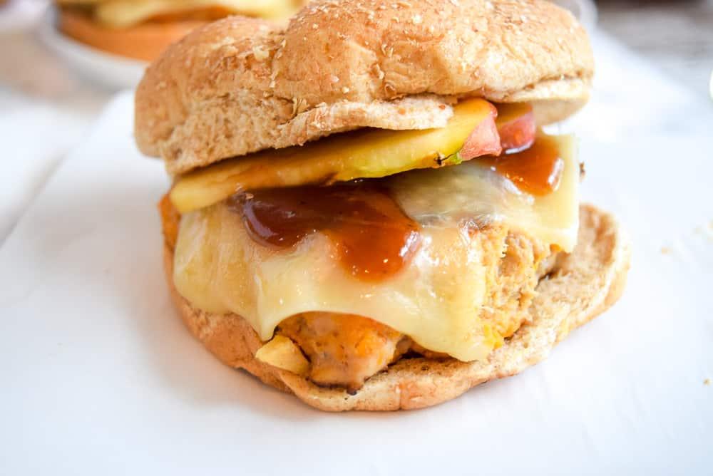 BBQ Apple Sweet Potato Burgers | Burger Recipes | Summer Foods