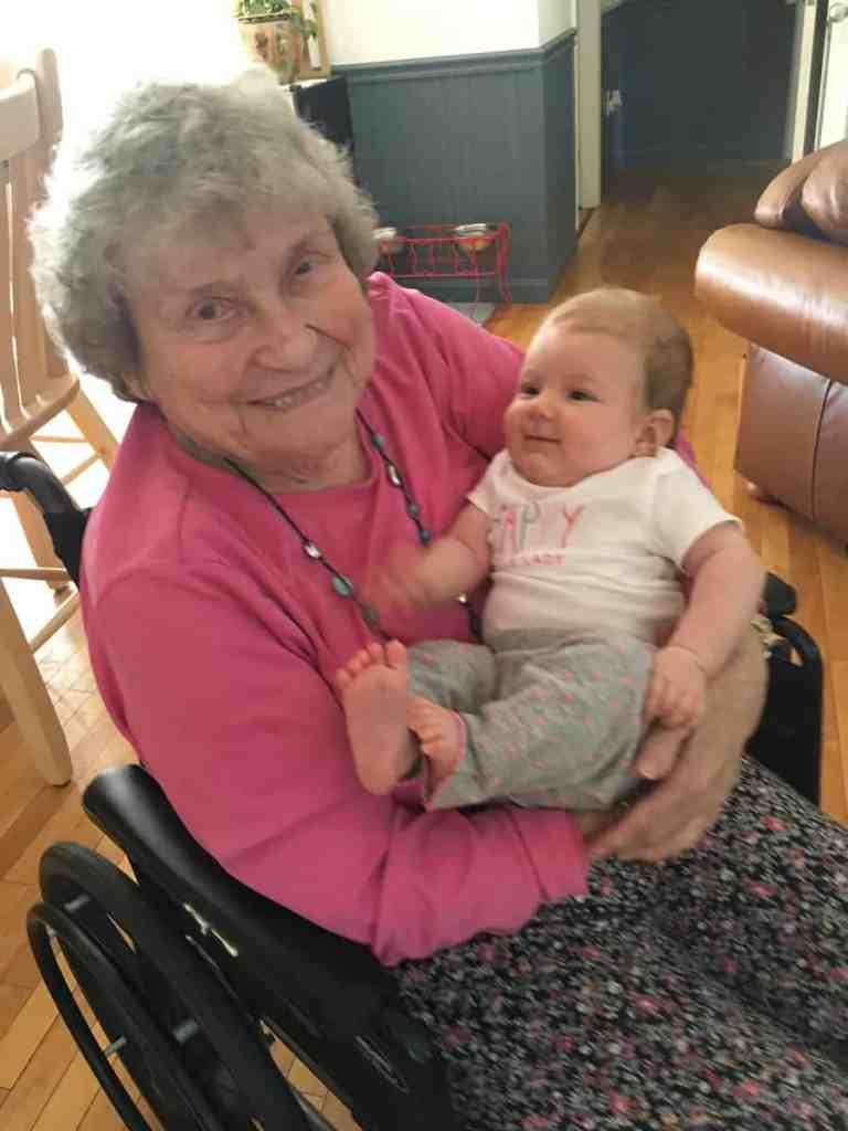 Cam and great grandma