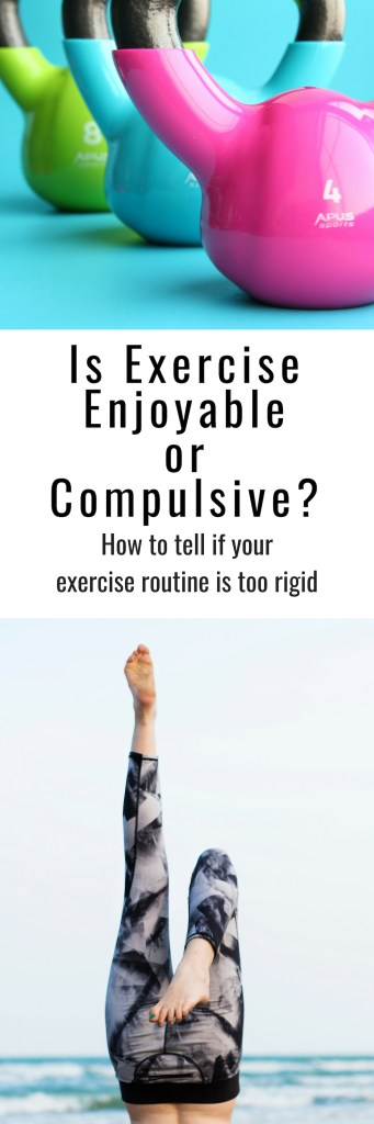 How do you know if you're exercising out of enjoyment rather than compulsion and force? Here are some signs.