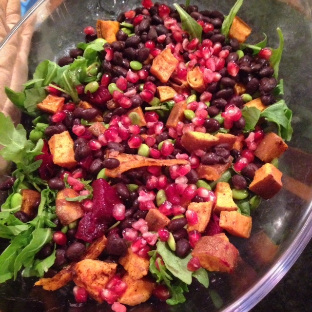 The Most Colorful Fall Salad