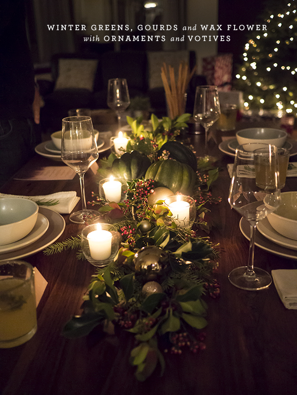 An Intimate Holiday Dinner Party