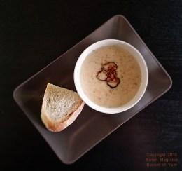 Cauli-Bacon Chowdah